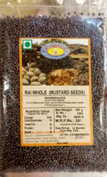 Mustard seeds (Rai whole)