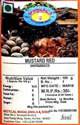 Mustard Red
